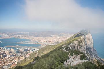 panoramique rocher de Gibraltar