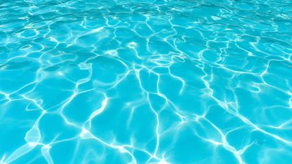 Beautiful Rippled water in pool