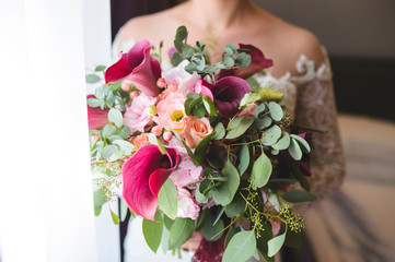 Weding Bouquet with Berries