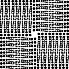 Square pattern with dots