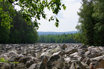 Stone River in the national park