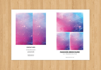 Fashion and Lifestyle Product Catalog Layout