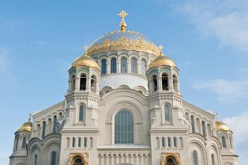 Naval Cathedral of Saint Nicholas in Kronstadt, Saint Petersburg, Russia