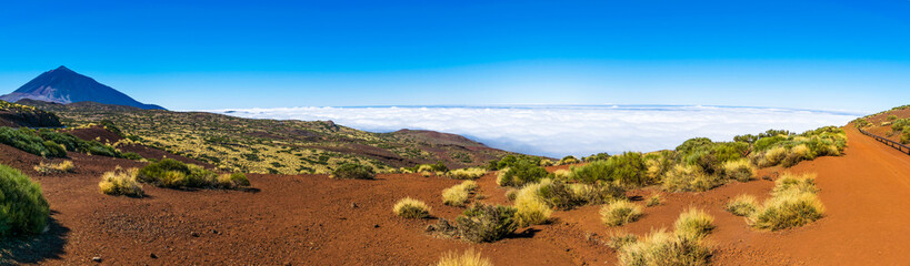 Tenerife - view of Teide Volcano Mount, Canary Islands, Spain