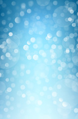 Blue Abstract Vertical Banner