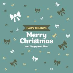 Поздравительная открытка, С праздником, с Рождеством и Новым Годом