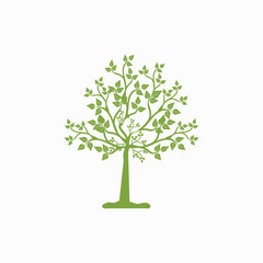 Tree icon illustration isolated vector sign symbol