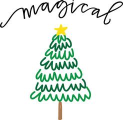 Magical Christmas Tree