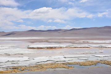Landscape in Atacama desert Chile