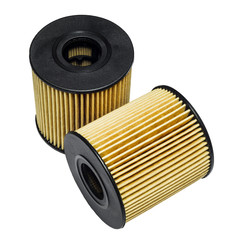 Cleaning the oil filter systems in motor vehicles