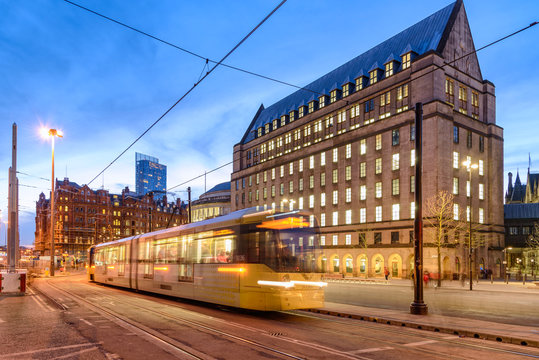 Metro Manchester Town Hall,England
