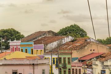 Colonial Style Architecture Olinda Brazil