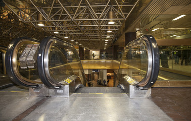 Escalator at Port Authority