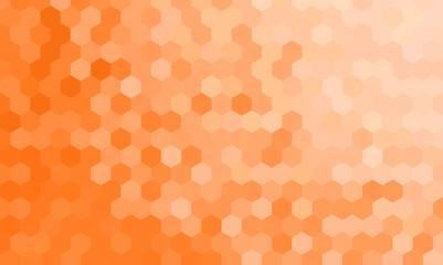 Hexagon Textured Decorative Vector Background Wallpaper