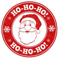 Ho-Ho-Ho! sign or stamp