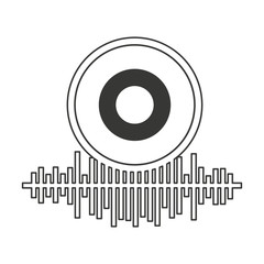 equalizer audio isolated icon vector illustration design