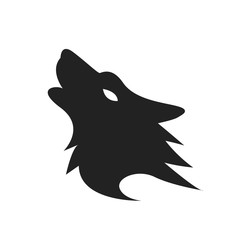 Wolf Silhouette Logo or Icon