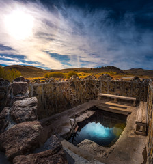 Hot Springs Oregon Hart Mountain National Antelope Refuge