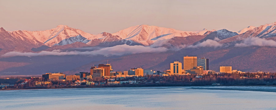 Anchorage Alaska Skyline