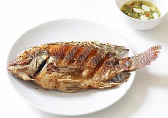 Fried Tilapia fish fried