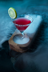 Colorful cocktails molecular