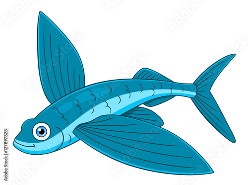 flying fish cartoon - photo #14