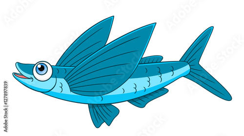 flying fish cartoon - photo #8