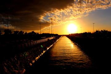 sunset, landscape, beauty, nature, amazing, wallpapers, sea, sun, beach