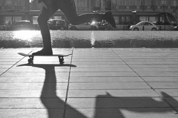 Skateboard bordeaux