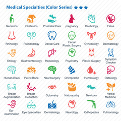 Medical Specialties (Color Series)