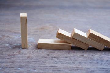 Wood block, different concept.