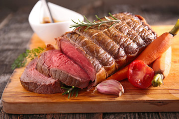 roast beef fillet Wall mural