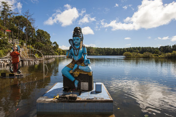 Templo Grand Bassin, Isla Mauricio