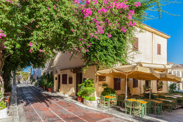 Plaka neighbourhood, Athens, Greece