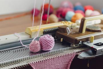 Hand Knitting Machine.
