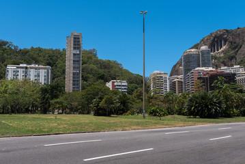Lagoon (Lagoa) district in Rio de Janeiro city, Brazil