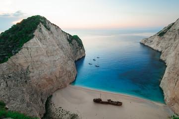 Shipwreck Beach isola di Zante