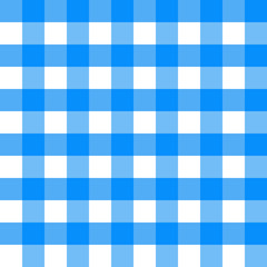 Thanksgiving Day. Blue Checkered. Vector Seamless pattern background. A component of the squares without transparency. Square. The concept of a classic tartan fabric pattern.