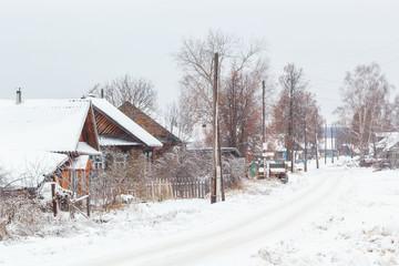 Улица в селе Богородское, Россия
