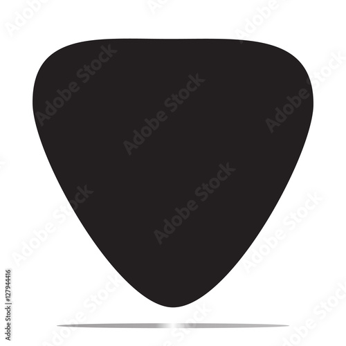 guitar pick icon stock image and royalty free vector files on rh fotolia com Guitar Pick Outline Guitar Pick Outline