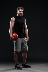 Full length trainer with ball