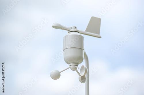 anemometer meteorology station stockfotos und. Black Bedroom Furniture Sets. Home Design Ideas