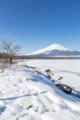 Mountain Fuji winter