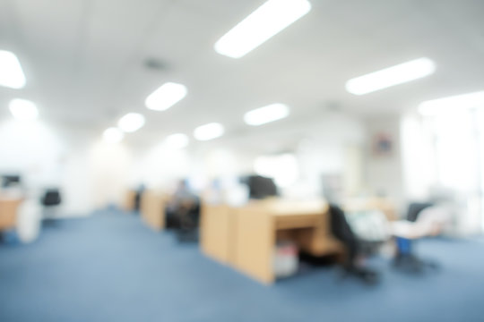 Blur background of modern office, business concept