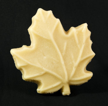 Maple leaf candy.
