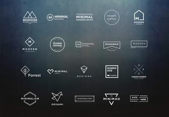 20 Minimalist Logo Layouts 1
