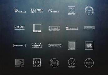 20 Minimalist Logo Layouts 2