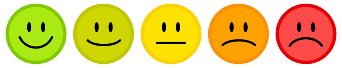 Smiley icon set