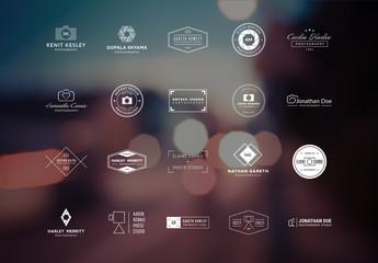 20 Photography Logo Layouts 1