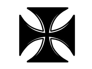 Tribal Kreuz Design